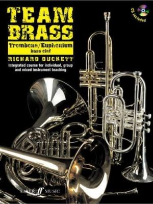 Team Brass Trombone / Euphonium bass clef (Book with CD)