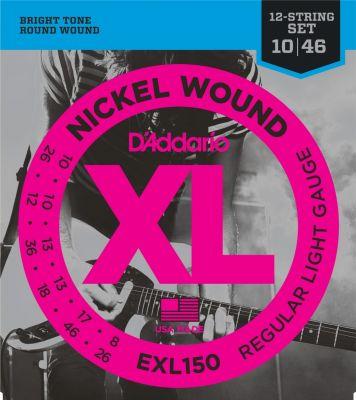 D'Addario XL Super Light 12 String