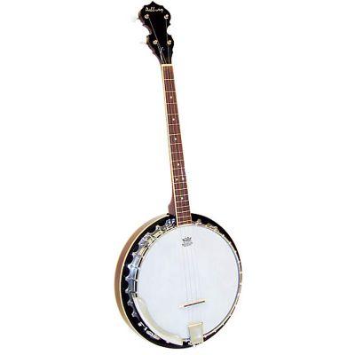 Ashbury AB-35T 19 Fret Tenor Banjo, Mahogany