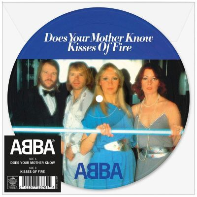 "ABBA - DOES YOUR MOTHER KNOW 7"" (PICTURE DISC)"
