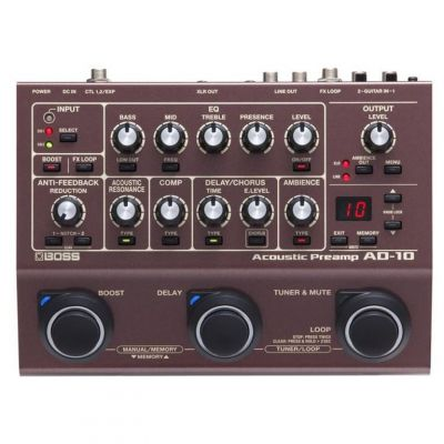 Boss AD-10 Acoustic Pre-Amp