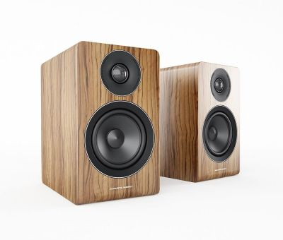 Acoustic Energy AE100 Standmount/Bookshelf Speaker, Walnut (pair)