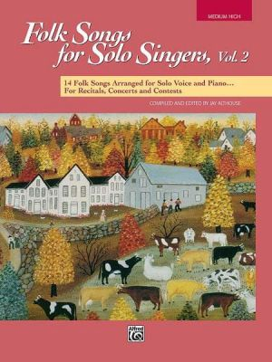 Folk Songs For Solo Singers 2 Book (Mh)