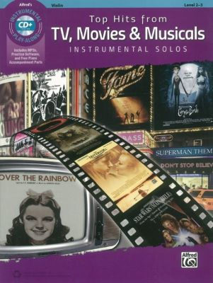 Top Hits From TV, Movies and Musicals (Alfred's Violin play-along)