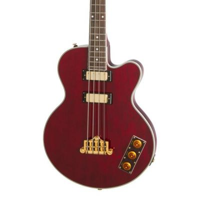 Epiphone Allen Woody Limited Edition RumbleKat Wine Red Bass Guitar