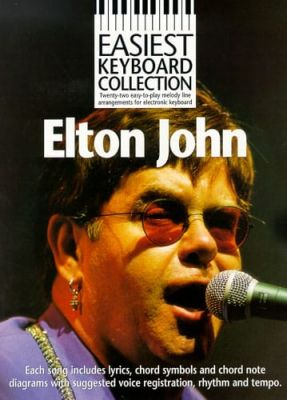 Easiest Keyboard Collection Elton John