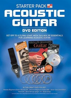 In A Box Starter Pack Acoustic Guitar (DVD edition)