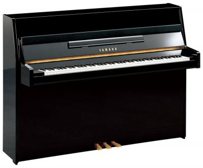 Yamaha B1PE Upright Piano, Polished Ebony,