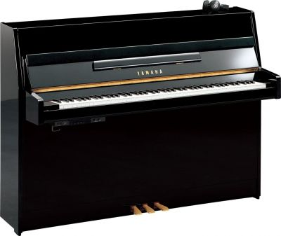 Yamaha B1 SC2 Polished Ebony Silent Piano