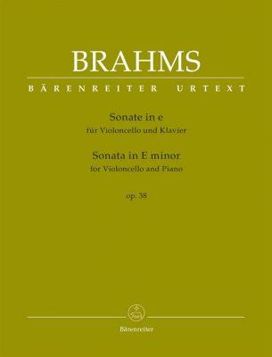 Brahms, J. - Sonata in E minor op. 38 (cello and piano)