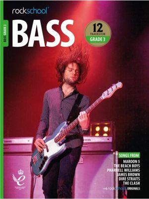 Rockschool Bass Grade 3 from 2018 (Book + Audio)