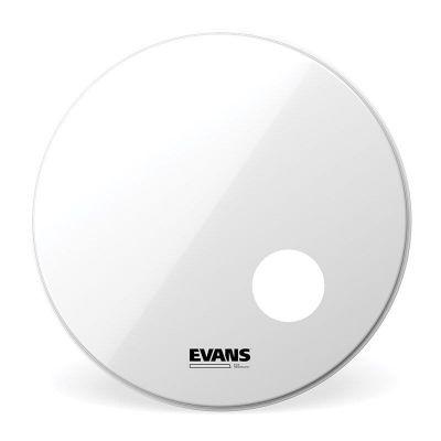 Evans EQ3 Resonant Smooth White Bass Drum Head 22inch, BD22RSW