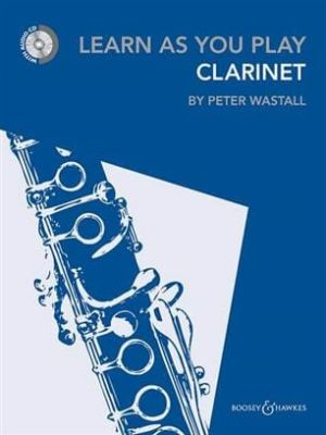 Learn as you Play Clarinet (New 2012) (Book + CD)