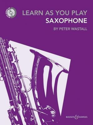 Learn as you Play Saxophone (New 2012) (Bk CD)
