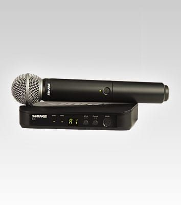 Shure BLX24 Vocal System WSM58