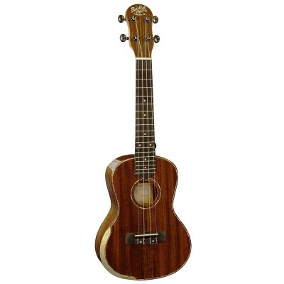 Barnes and Mullins BMUK5C Concert Ukulele, Walnut High Gloss
