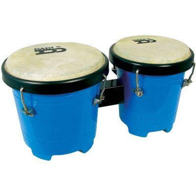 Dadi Plastic Bongos Blue