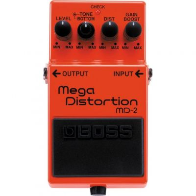 Boss MD2 Mega Distortion Effects Pedal