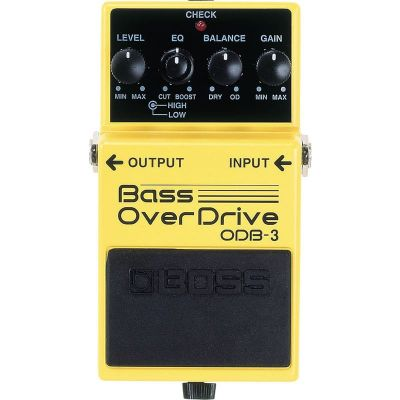 Boss ODB3 Bass Turbo Overdrive Pedal