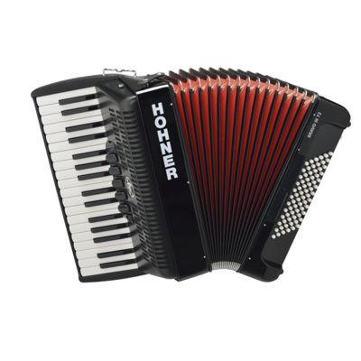Hohner Bravo accordion accordion III 72 34 72 111 5 2 g-e Black