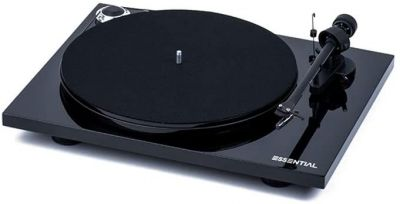 Project Essential III Turntable with Bluetooth and Phono PreAmp, Black
