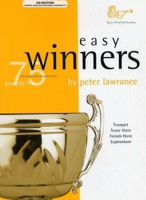 Easy Winners Treble Clef (Trumpet Trombone Euphonium) with CD
