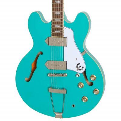 Epiphone Casino Semi Acoustic Turquoise Gloss