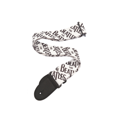 D'Addario Beatles Guitar Strap, Classic Logo
