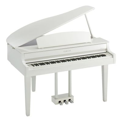 Yamaha CLP765GP Digital Grand Piano in Polished White