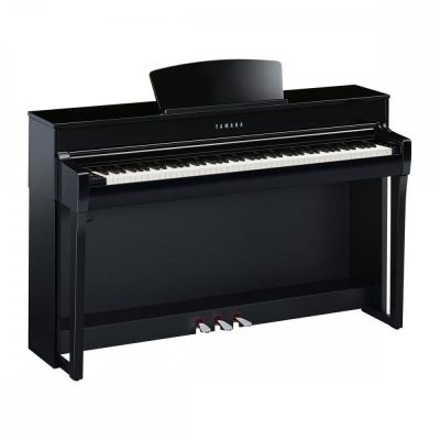Yamaha CLP735PE Digital Piano in Polished Ebony
