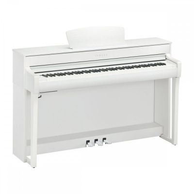 Yamaha CLP735WH Digital Piano in Satin White