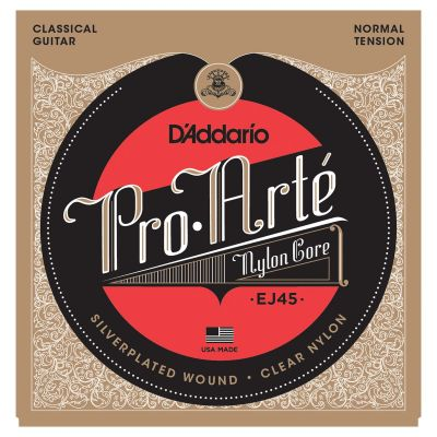 D'Addario Pro-Arte Nylon Classical Guitar Strings, Normal Tension