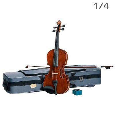 Stentor Conservatoire Violin Outfit, Oblong Case, 1/4 Size (1550F)