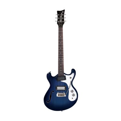 Danelectro 66T Guitar With Tremolo Trans Blue