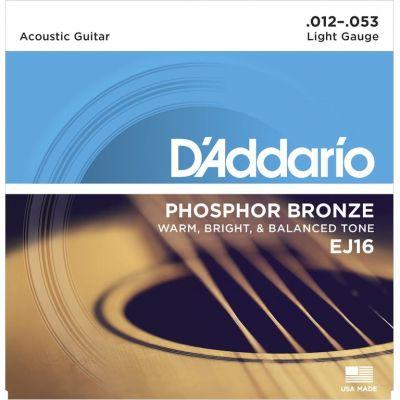 D'Addario Phosphor Bronze Light