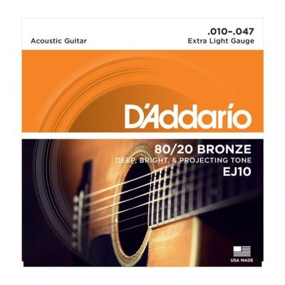 D'Addario 80 20 Bronze Extra Light