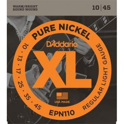 D'Addario XL Pure Nickel Regular Light