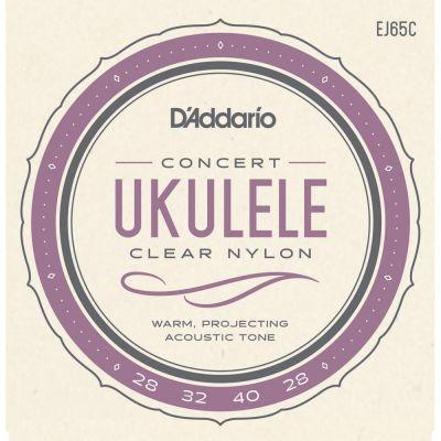 D'Addario Pro-Arte Custom Extruded Nylon Ukulele Strings, Concert