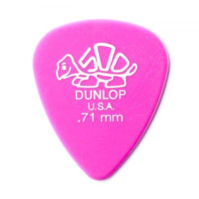 Dunlop Picks Delrin 500 Standard 0.71mm Players Pack 12