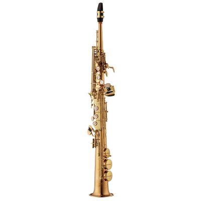 Yanagisawa Soprano Saxophone, Bronze, Gold Lacquer (SWO2)