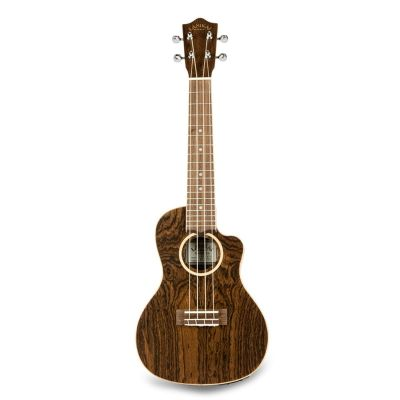Lanikai FB-CETC Concert Travel Ukulele, electro, figured bocote wood