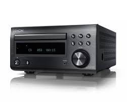 Denon RCDM41DAB Micro HiFi CD Receiver with Tuner and Bluetooth, Black