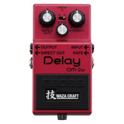 Boss DM2W Custom Delay pedal
