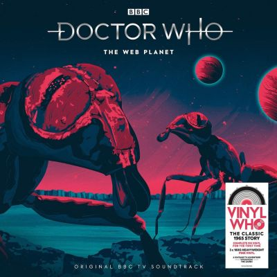ORIGINAL CAST RECORDING - DOCTOR WHO - THE WEB PLANET - PINK VINYL 3LP