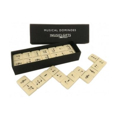 Music Gifts Boxed Set of Dominoes