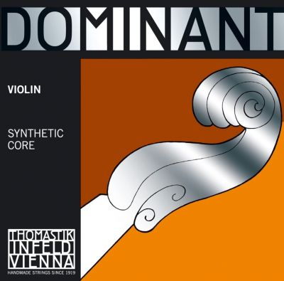 Thomastik Infeld Dominant Violin String Set, Full Size (130,131,132,133)