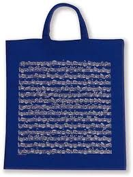 Tote Bag - Sheet Music (Blue)