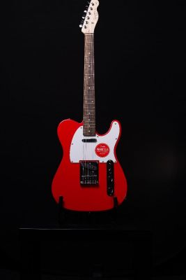 Squier Affinity Telecaster, Laurel Fingerboard, Race Red