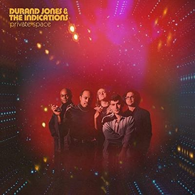 DURAND JONES & THE INDICATIONS - PRIVATE SPACE - red nebula vinyl