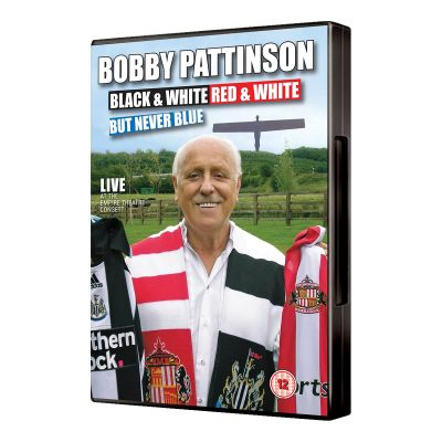 Bobby Pattinson - Bobby Pattinson - Black and White, Red and White, But Never Blue (DVD)